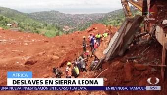 Cruz Roja Desaparecidos Deslaves Sierra Leona