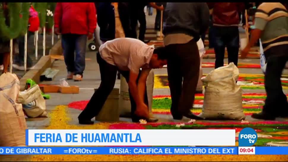 La, tradicional, feria, Huamantla