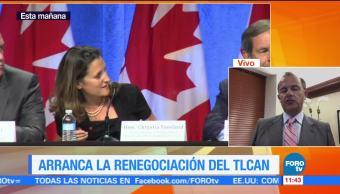Jorge Suárez Vélez Habla Renegociación TLCAN