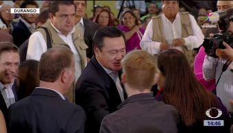 Osorio Chong afirma Durango ciudades seguras