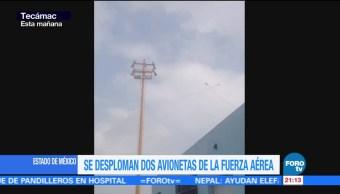 Roce de alas causó accidente de aeronaves Sedena
