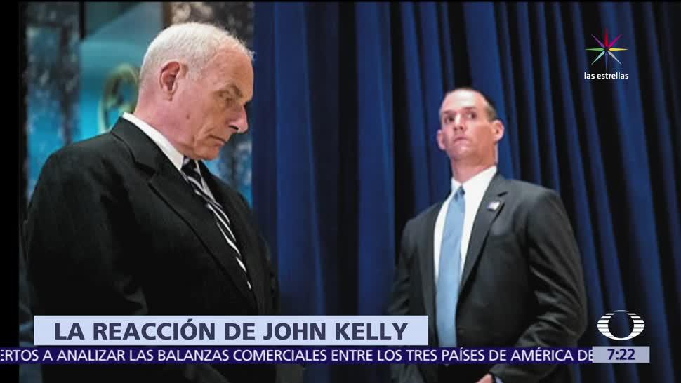 rostro, emblemático, John Kelly, Trump