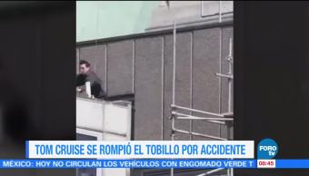 Tom Cruise, rompió, tobillo, accidente