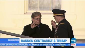 Steve Bannon Contradice A Donald Trump