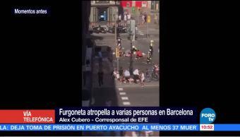 Caos, calles, Barcelona, atropellamiento