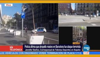 Atropellamiento, Barcelona, muertos, heridos