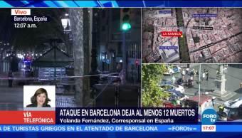 prófugo conductor atentado Las Ramblas Barcelona