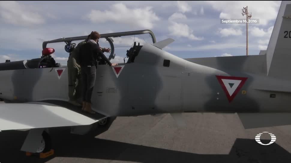 Así funciona la eyección en naves de la Fuerza Aérea