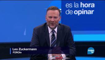 Es La Hora Opinar con Leo Zuckermann programa 17 de agosto