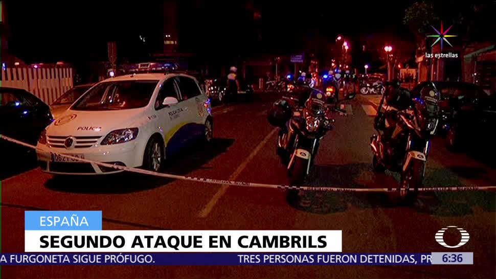 Segundo Atentado Cambrils Cataluña Mujer Muerta