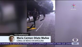 Mexicanos Víctimas Atentado Barcelona Consul De Mexico Maria Carmen Oñate Muñoz
