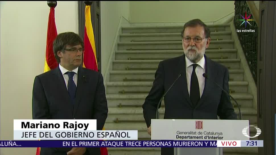 Rajoy Mayor Celeridad Esclarecer Atentados España