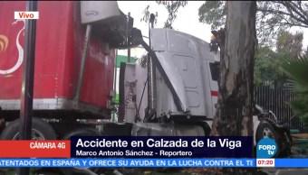 Trailer Camioneta Chocan Calzada Viga