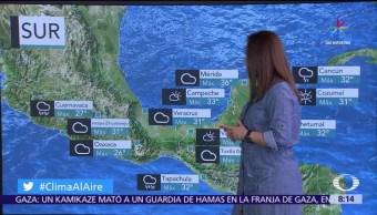 Clima Al Aire Pronostican Tormentas Noroeste Occidente Sur Mexico