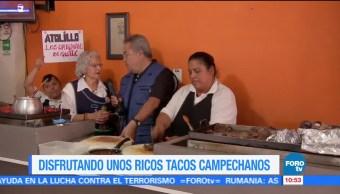 Viernes Culinario Ricos Tacos Campechanos