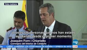 Consejero Interior Cataluña Destaca Actuacion Policia