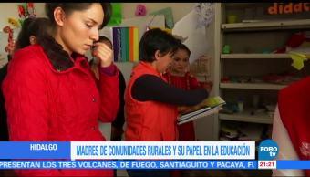 Madres de comunidades rurales y su papel en la educación