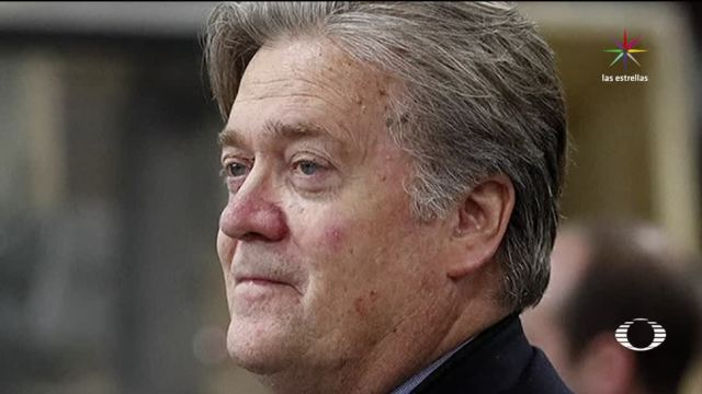 Bannon fungió como jefe de Estrategia de la Casa Blanca.