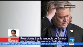 Reacciones Renuncia Steve Bannon Corresponsal En Washington Ariel Moutsatsos