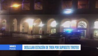 Alerta por presunto tiroteo en estación de tren de Francia