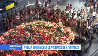 Realizan vigilia en memoria de las víctimas de los atentados en España