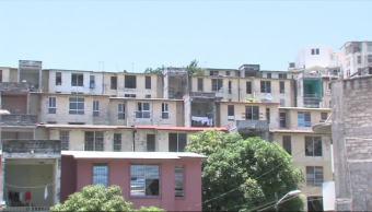 Unidades habitacionales en Acapulco registran daños por sismos