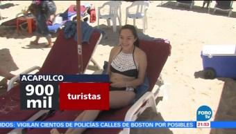 Turistas aprovecha las últimas horas de vacaciones en las playas