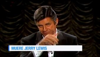 Fallece, actor, cantante, Jerry Lewis