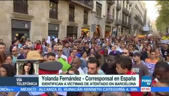 Identifican, víctimas, atentado, Barcelona