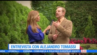 La, entrevista, Alejandro, Tomassi