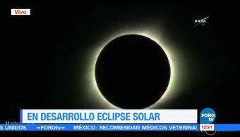 Eclipse, llega, totalidad, Oregon