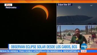 alumnos, eclipse, Baja California, Sur