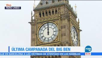 Big Ben, dejará, sonar, años