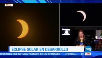 Cientos personas eclipse solar Sonora