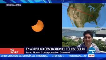 Centros Astronomicos Mexico Llenan Personas Eclipse