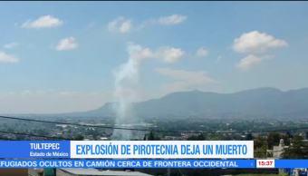 Explosion Pirotecnia Tultepec Muerto Edomex Polvorin