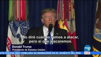 Sacar tropas estadounidenses Afganistán error Trump