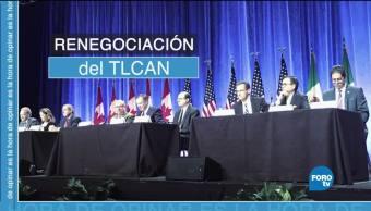 primera ronda de negociacion del TLCAN