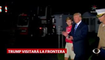 Trump irá la frontera este martes