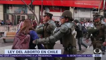 Chile, aprueba, despenalización, aborto