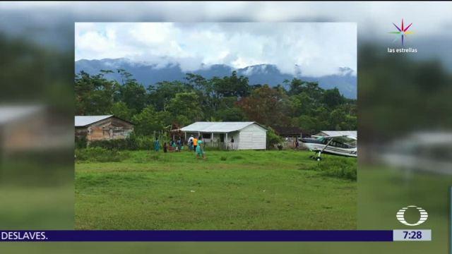 Llegan, medicinas, comunidades, indígenas