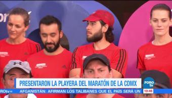 Presentan Playera Maratón Ciudad de México