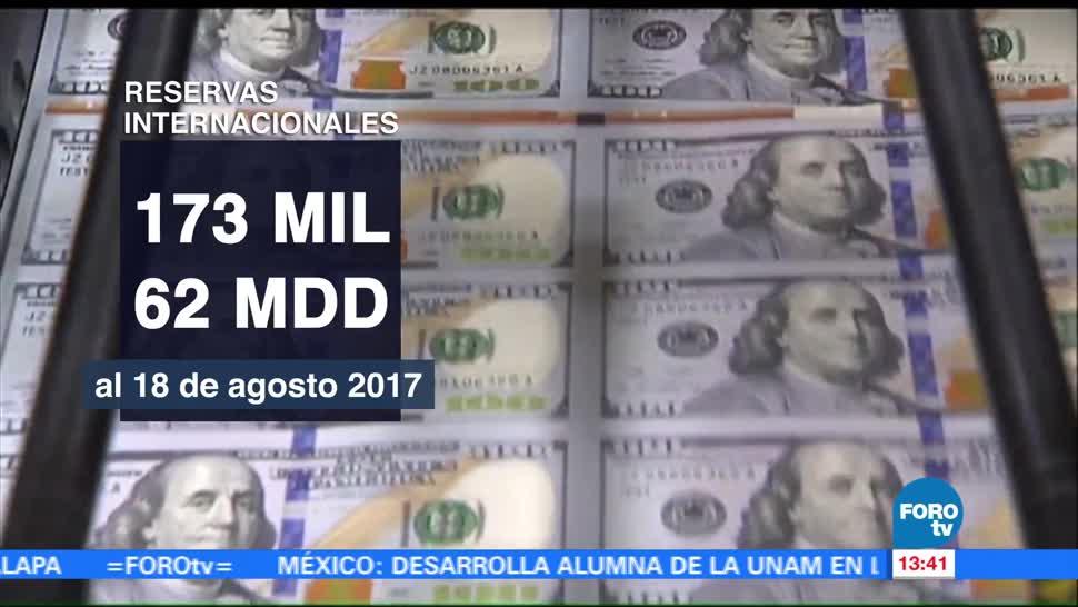 Reservas Internacionales Mexico Bajan Banco De Mexico