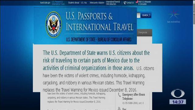 Eu Actualiza Alerta Viajes Mexico Emite Primera Alerta