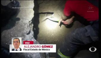 Descubren toma clandestina jardines Morelos Ecatepec