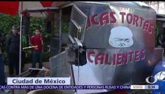 Choque, avenida, Chapultepec, heridos