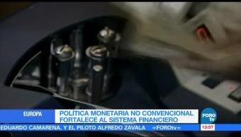 Mario Draghi defiende política monetaria convencional