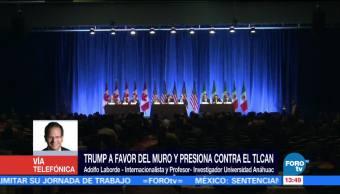 Trump puede presionar contra el TLCAN