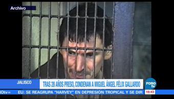 Sentencian narcotraficante Miguel Ángel Félix Gallardo