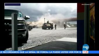 Imágenes de tiroteo ocurrido en Tamaulipas